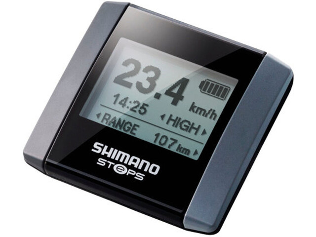 Shimano Steps SC-E6000 Informations-Display schwarz/silber